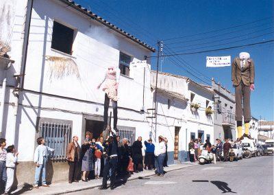 Fiesta de San Gregorio Quema de los Marmotos