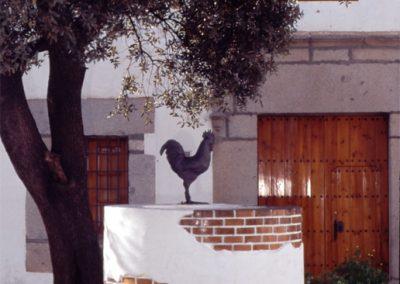 pozo con gallo (pozoblanco)